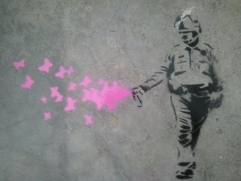 occupy-cop-casually-pepper-sprays